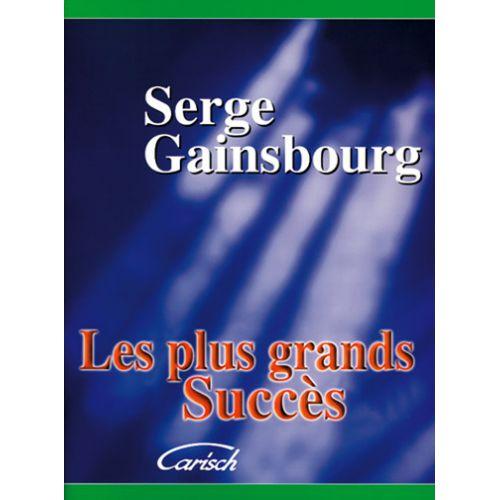CARISCH GAINSBOURG SERGE SES PLUS GRANDS SUCCES PVG