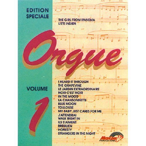 MUSICOM EDITION SPECIALE POUR ORGUE VOL. 1 - ORGUE