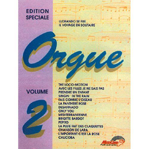 MUSICOM EDITION SPECIALE POUR ORGUE VOL. 2 - ORGUE