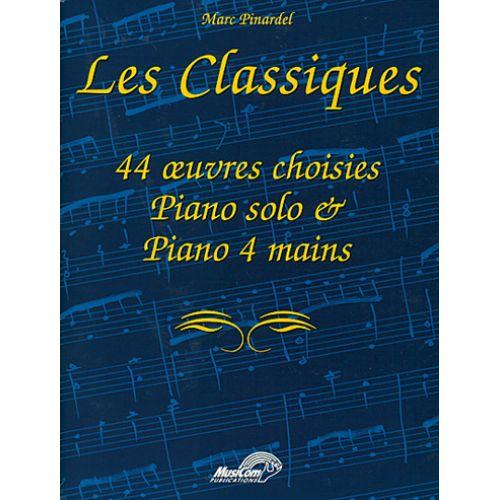 MUSICOM PINARDEL MARC - LES CLASSIQUES - PIANO