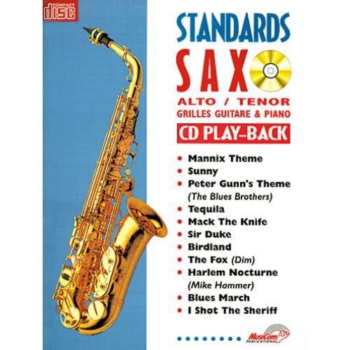 CARISCH STANDARDS SAXO ALTO ET TÉNOR + CD