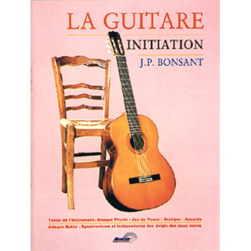 MUSICOM BONSANT J.P. - GUITARE INITIATION - GUITARE