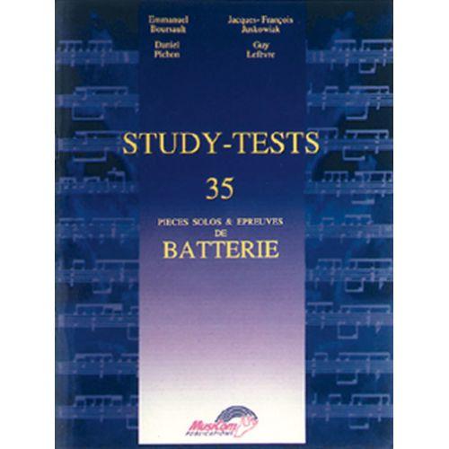 CARISCH STUDY-TESTS - 35 PIECES SOLOS & EPREUVES DE BATTERIE