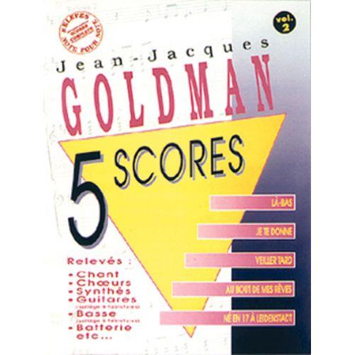 MUSICOM GOLDMAN J.J - 5 SCORES VOL. 2