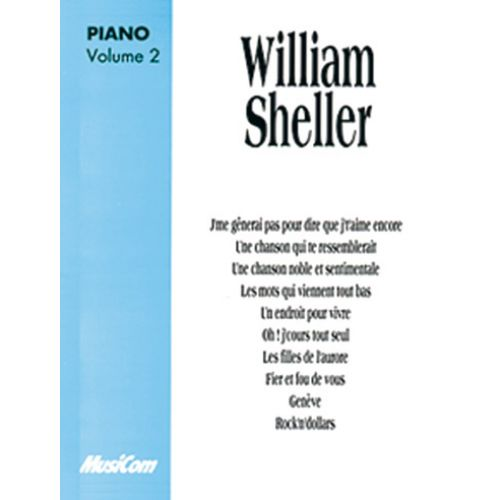 MUSICOM SHELLER W. - ALBUM VOL. 2 - PIANO, CHANT
