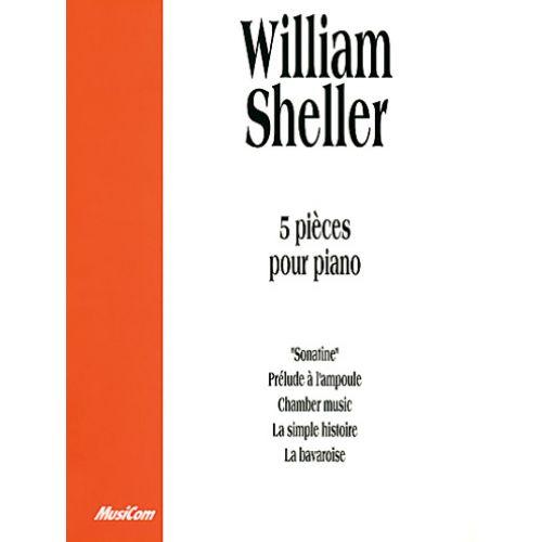MUSICOM SHELLER W. - 5 PIECES - PIANO
