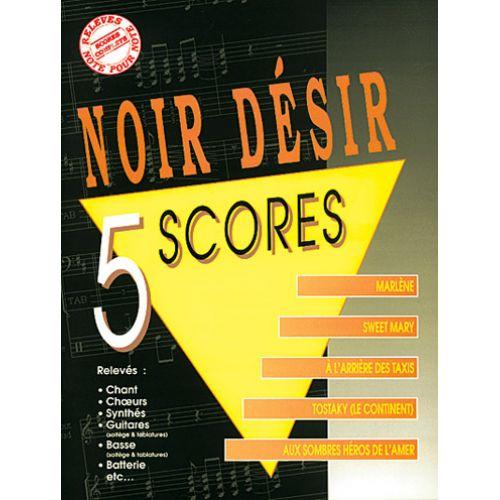 MUSICOM NOIR DESIR - 5 SCORES