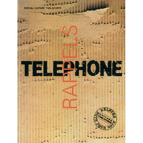 CARISCH TELEPHONE RAPPELS - GUITARE TAB