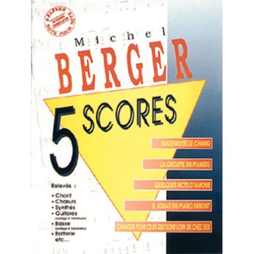 MUSICOM BERGER MICHEL - 5 SCORES