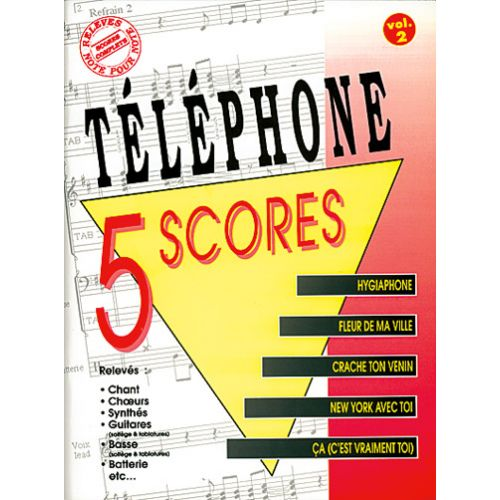 MUSICOM TELEPHONE - 5 SCORES VOL. 2