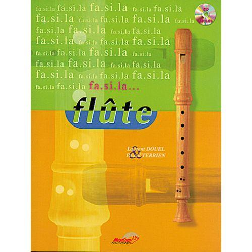MUSICOM DOUEL L. , TERRIEN P. - FA SI LA FLUTE VOL. 1 + CD - FLÛTE À BEC