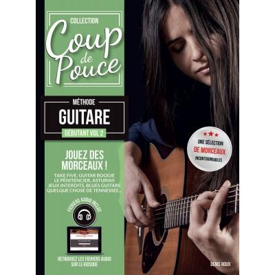 COUP DE POUCE COUP DE POUCE GUITARE VOL.2 + CD