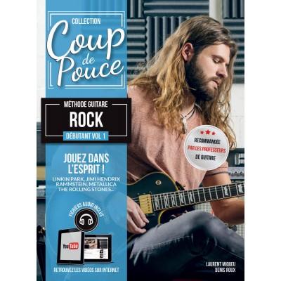 COUP DE POUCE COUP DE POUCE GUITARE ROCK VOL.1