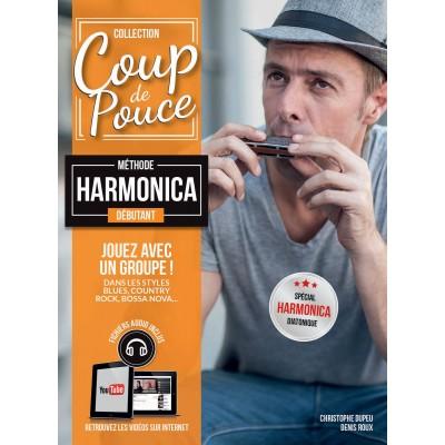 COUP DE POUCE COUP DE POUCE HARMONICA DEBUTANT