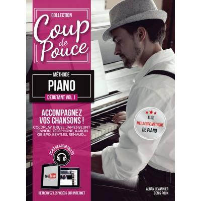 COUP DE POUCE ROUX & GHUZEL - DÉBUTANT CLAVIER VOL.1 + CD
