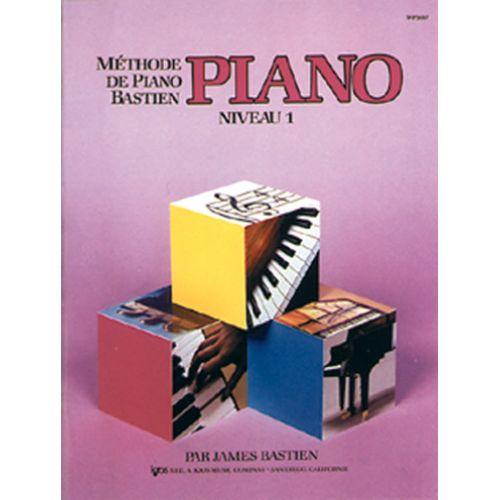 CARISCH METHODE DE PIANO BASTIEN NIVEAU 1