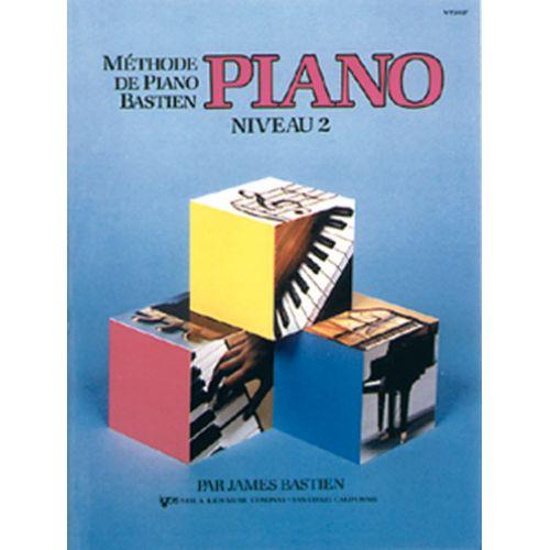 CARISCH METHODE DE PIANO BASTIEN NIVEAU 2