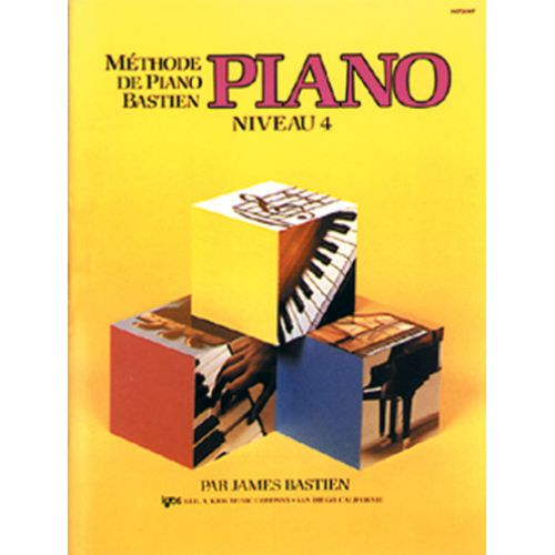 CARISCH BASTIEN JAMES - METHODE DE PIANO BASTIEN NIVEAU 4 - PIANO