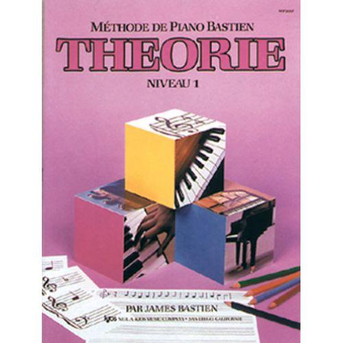 CARISCH BASTIEN JAMES - METHODE DE PIANO BASTIEN THEORIE NIVEAU 1 - PIANO