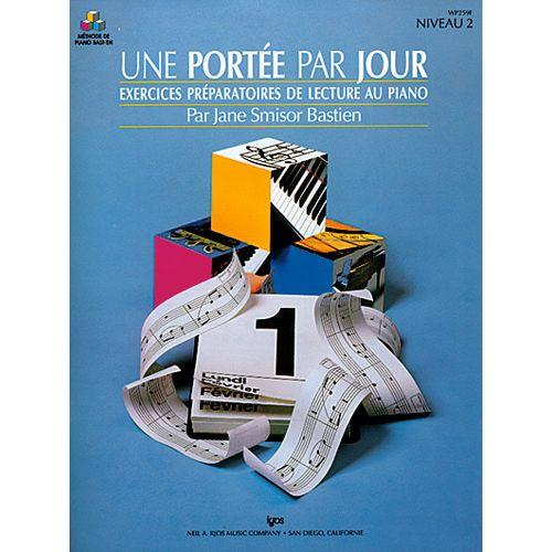 CARISCH BASTIEN JANE SMISOR - UNE PORTEE PAR JOUR VOL. 2 - PIANO