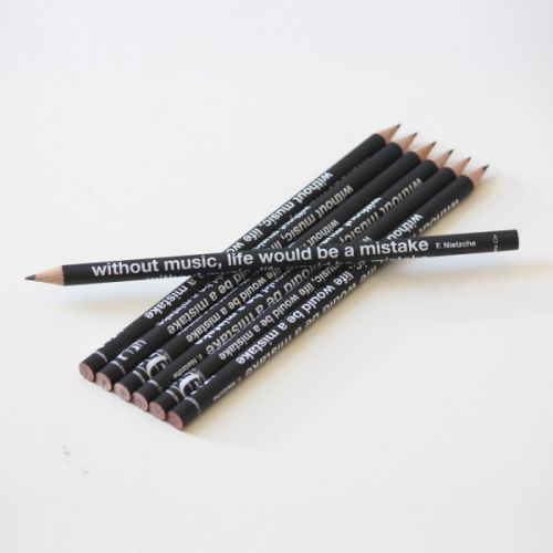 MUSIC GIFT MUSIC QUOTES PENCIL