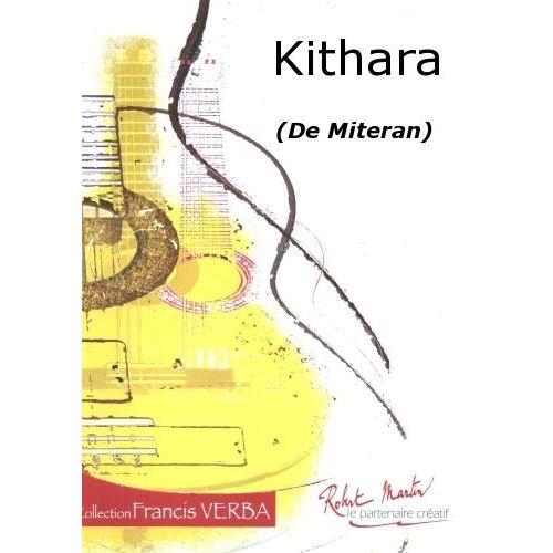 ROBERT MARTIN MITERAN - KITHARA