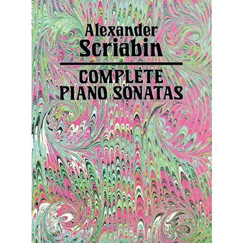 DOVER SKRYABIN A. - COMPLETE PIANO SONATAS