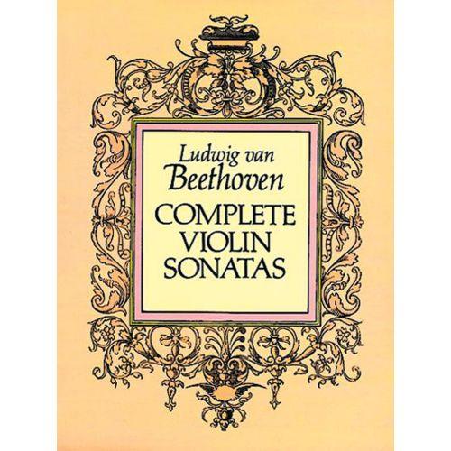 DOVER BEETHOVEN L.VAN - COMPLETE VIOLIN SONATAS