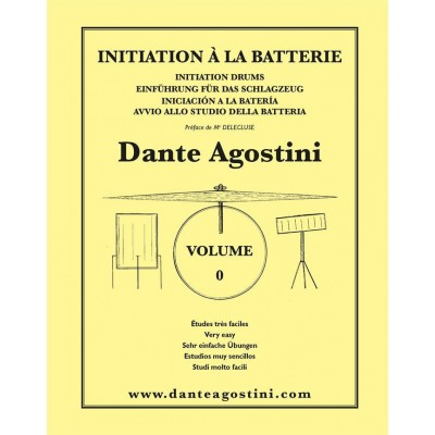 AGOSTINI AGOSTINI - METHODE DE BATTERIE VOL.0 : INITIATION À LA BATTERIE