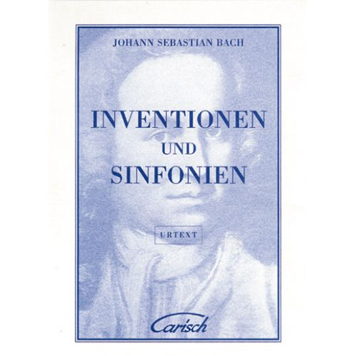 CARISCH BACH J.S. - INVENTIONEN AND SINFONIEN - CEMBALO