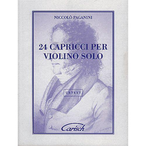 CARISCH PAGANINI N. - 24 CAPRICCI - VIOLON