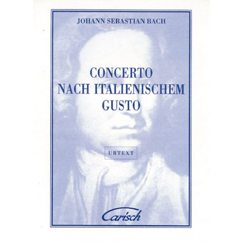 CARISCH BACH J.S. - CONCERTO ITALIEN - CLAVECIN