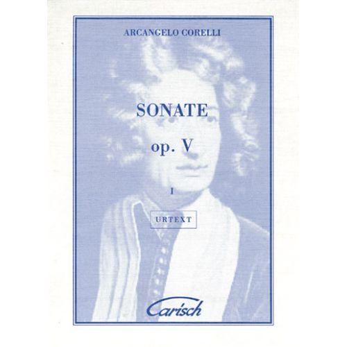 CARISCH CORELLI ARCANGELO - SONATE OP.5 VOL. 1 - VIOLON, PIANO