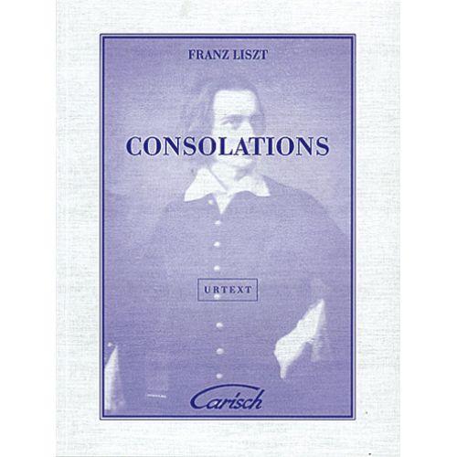 CARISCH LISZT FRANZ - CONSOLATIONS - PIANO