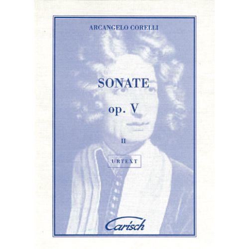 CARISCH CORELLI ARCANGELO - SONATE OP.5 VOL. 2 - VIOLON, PIANO