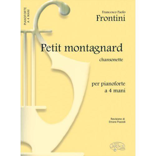 CARISCH FRONTINI F.P. - PETIT MONTAGNARD - PIANO 4 MAINS