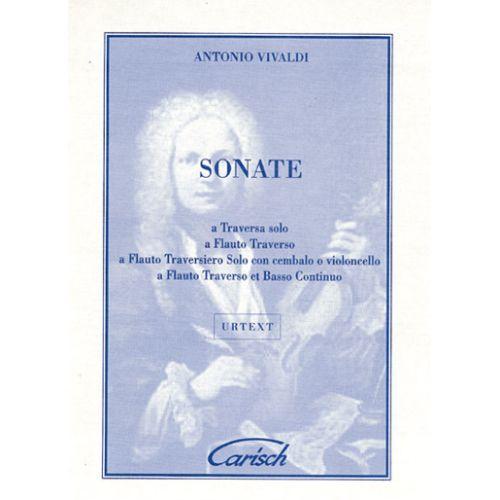 CARISCH VIVALDI ANTONIO - SONATE - FLUTE