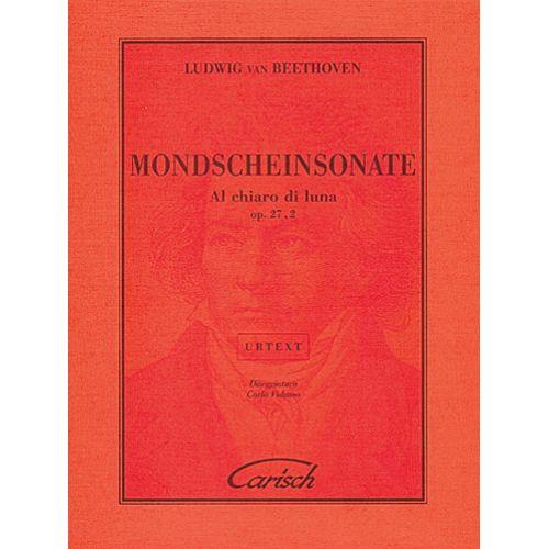 CARISCH BEETHOVEN L.V.- SONATA CHIARO DI LUNA OP 27 N2 - PIANO