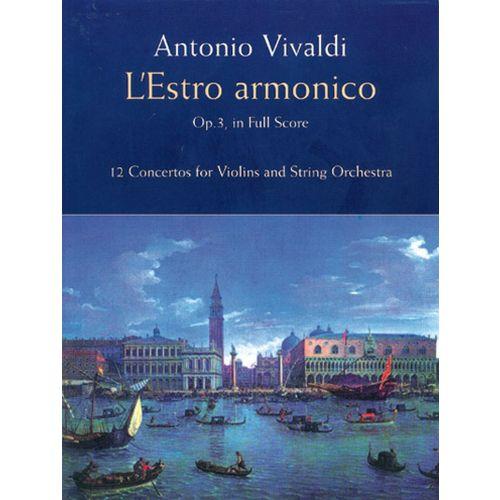 DOVER VIVALDI A. - ESTRO ARMONICO OP.3 - FULL SCORE