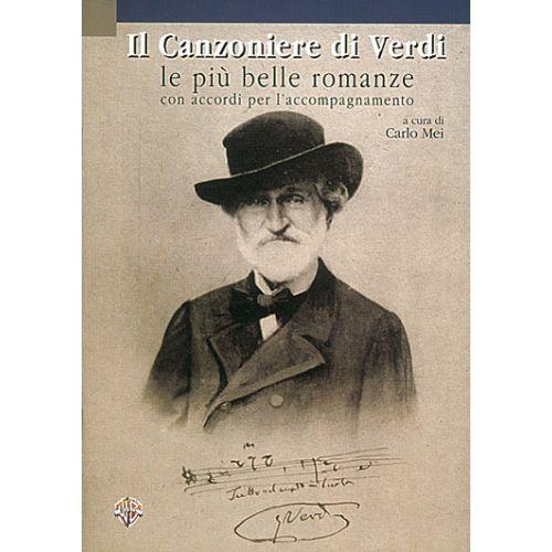 CARISCH VERDI G. - CANZONIERE DI VERDI - PAROLES ET ACCORDS