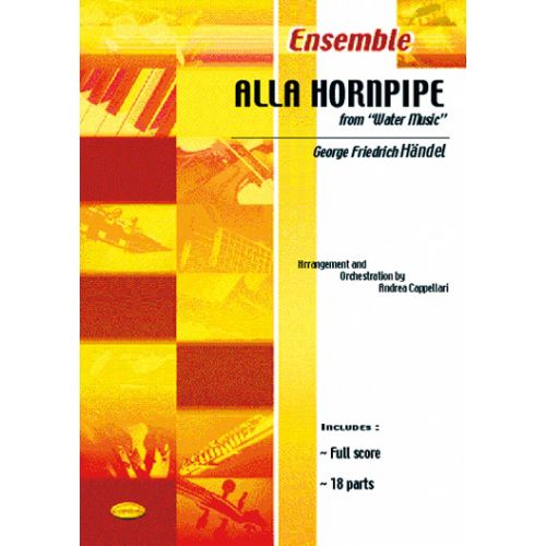 CARISCH HANDEL GEORGE F. - ALLA HORNPIPE - CONDUCTEUR