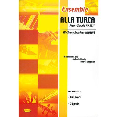 CARISCH MOZART W.A. - ALLA TURCA - CONDUCTEUR