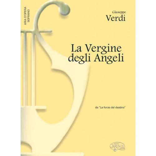 CARISCH VERDI G. - VERGINE DEGLI ANGELI - PIANO, VOIX SOPRANO