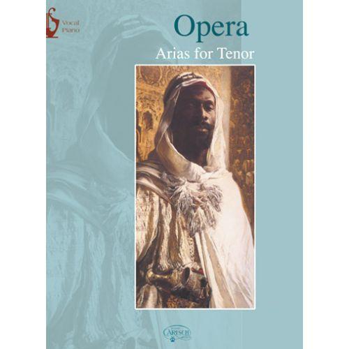 CARISCH OPERA ARIAS FOR TENOR - CHANT / PIANO