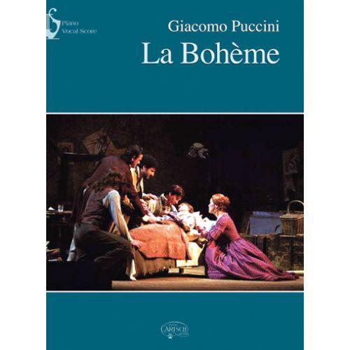CARISCH PUCCINI GIACOMO - LA BOHEME - CHANT, PIANO
