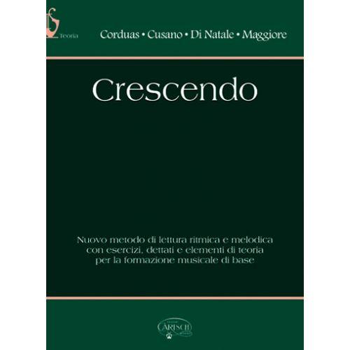 CARISCH CRESCENDO - FORMATION MUSICALE