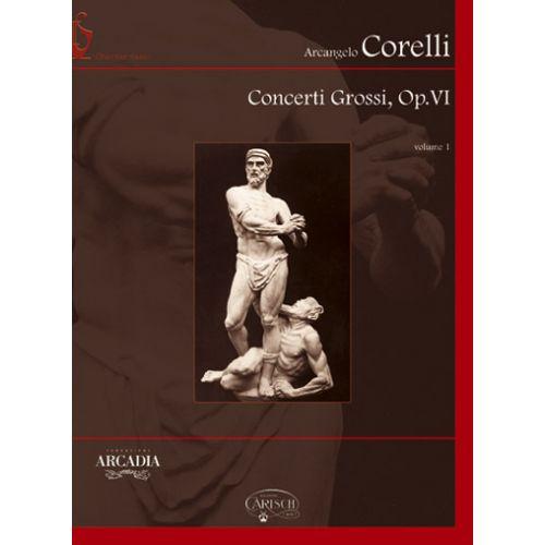 CARISCH CORELLI ARCANGELO - CONCERTI GROSSI OP.6 VOL.1 + CD