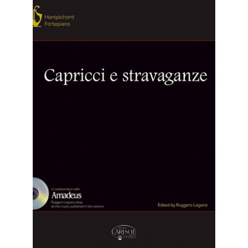 CARISCH CAPPRICCI E STRAVAGANZE + CD - PIANO