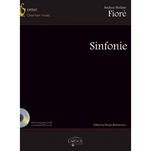 CARISCH FIORE ANDREA STEFANO - SINFONIE + CD