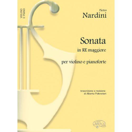 CARISCH NARDINI PIETRO - SONATA IN RE MAGG - VIOLON, PIANO